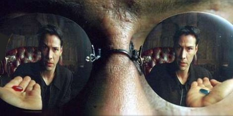 You take the blue pill, the story ends.