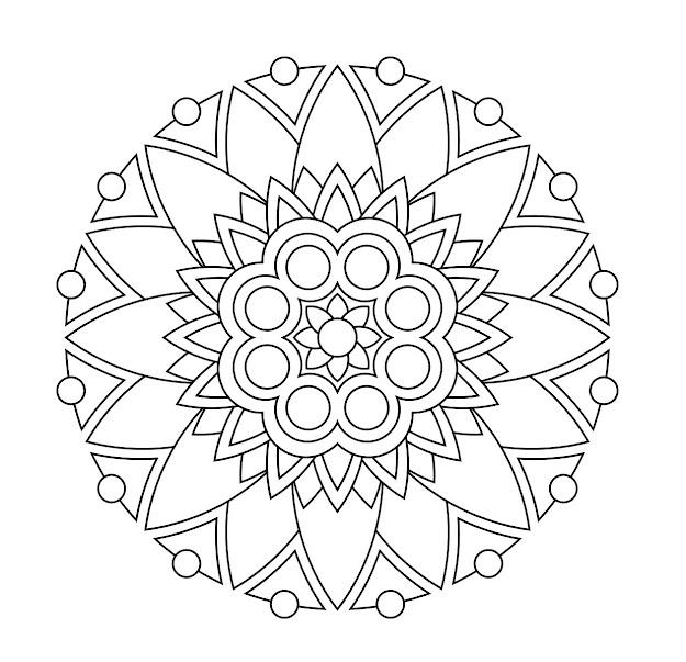 Mandala Coloring Pages  Designpdfprintmandalacfbeddfcec