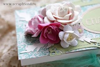 Шоколадницы своими руками. Использованы ножи Scrapfriend, цветы из Таиланда, сеточка с алиэкспресс. Автор carambolka.ru
