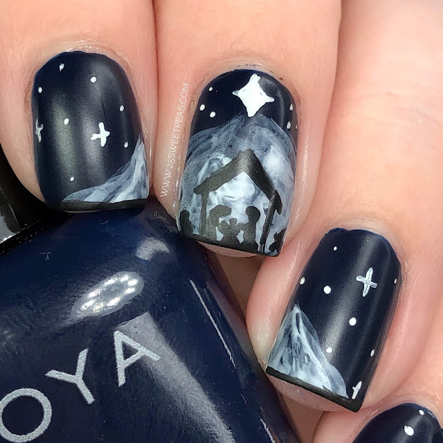 Nativity Nail Art