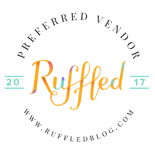 see us featured on ruffled