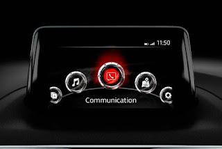 Mazda 3 2017 với màn hình Connect