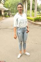Rakul Preet Singh in Jeans and White Shirt At Jaya Janaki Nayaka le Logo Launch ~  Exclusive 039.JPG