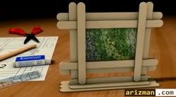 Cara-membuat-pigura-foto-dari-stik-es-krim