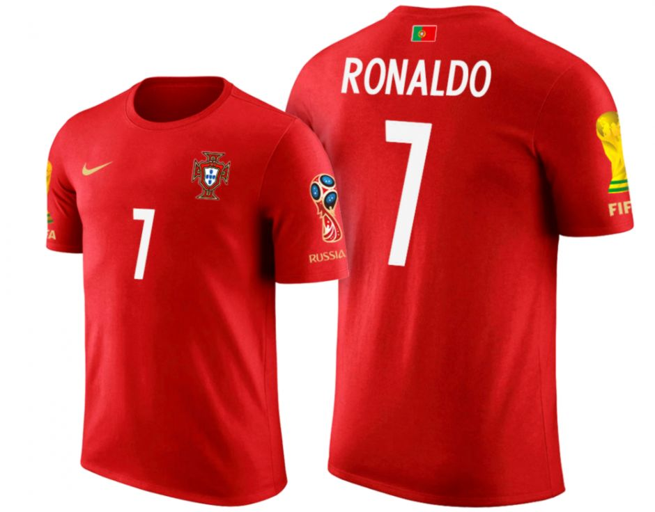 Cristiano Ronaldo In Red T Shirt Images | Wallpapers Design