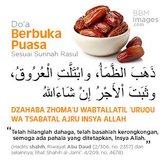 Macam-macam Doa Berbuka Puasa Ramadhan