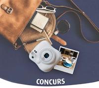 Castiga un aparat foto instant Fujifilm Instax Mini 8