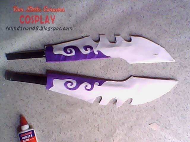 OUR LITTLE CORNERS: Making Katana Swords