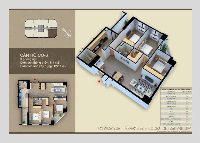 căn hộ c0- 8 chung cư vinata tower