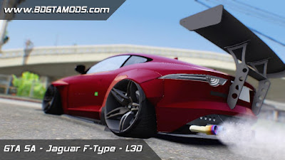 GTA SA - Jaguar F-Type L3D Store Edition 3