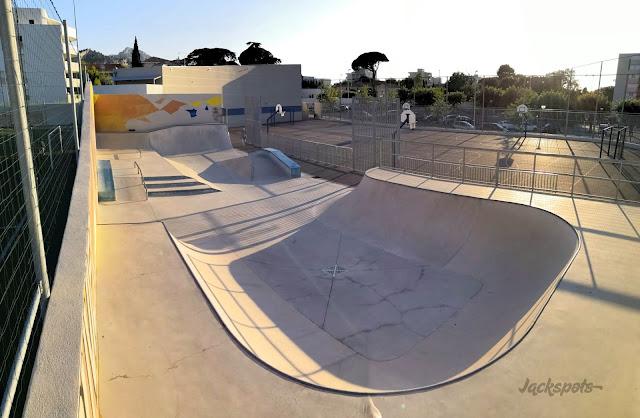 Skate park Rouvier Marseille