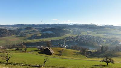 Blick auf Dürrenroth vom Chabisberg