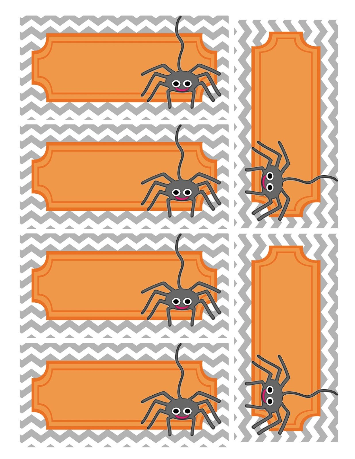 Printable Halloween T Tags From Land O Lakes Cute Printable Halloween T Tags On The