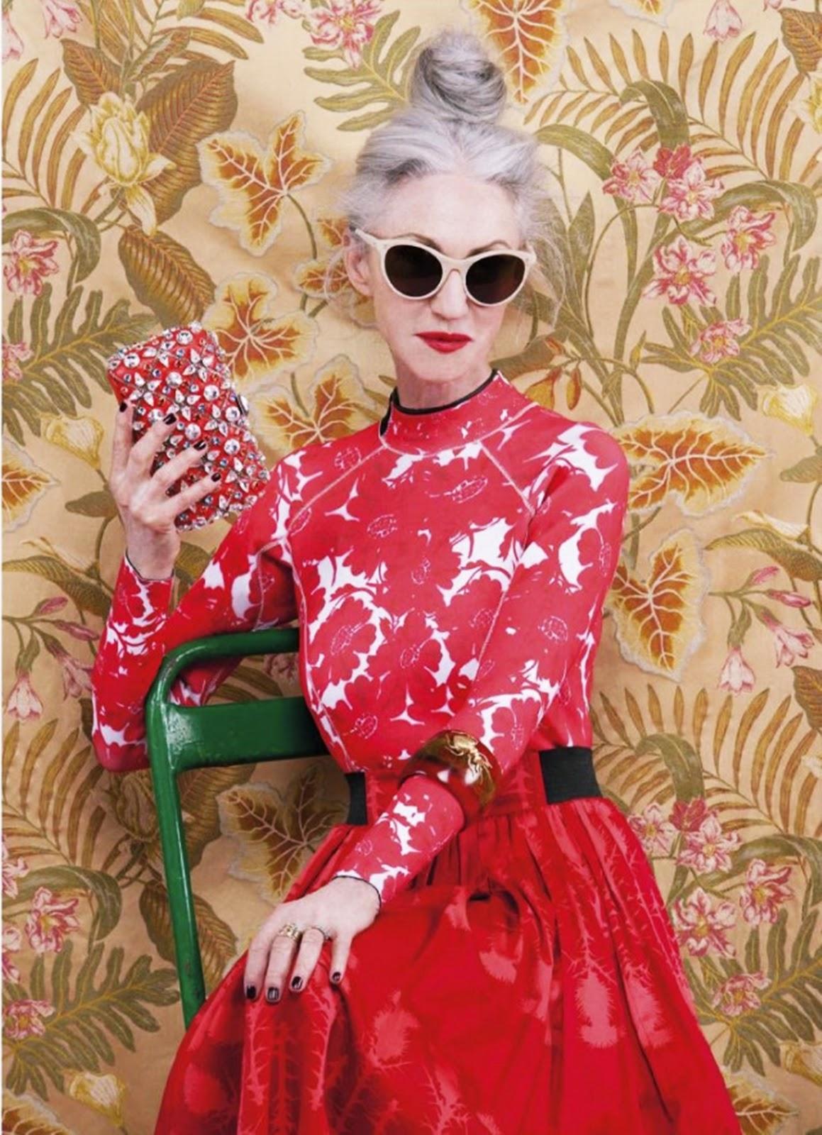 Alter, sehen die toll aus...! Linda Rodin dressed red