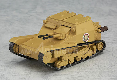 Figura Carro Veloce CV-33 (L3/33) Nendoroid More Girls und Panzer the Movie