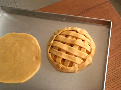 Mini Apple Lattice Crostata Recipe @ http://treatntrick.blogspot.com