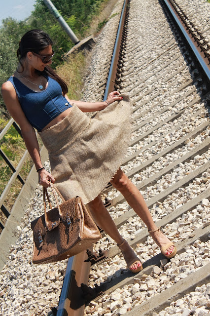 skirt, fashion, look, cool, glamour, style, moda, creativa, creatività, art craft, crafts, createandcraft, my craft