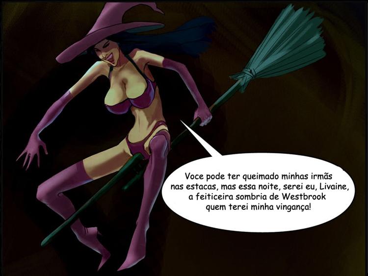 A bruxa negra de Westbrook 3