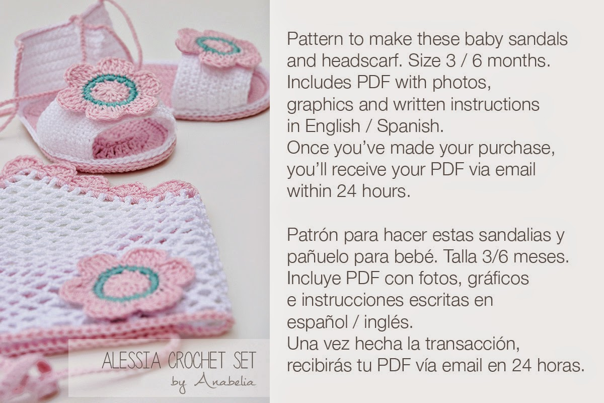 Alessia crochet ser by Anabelia