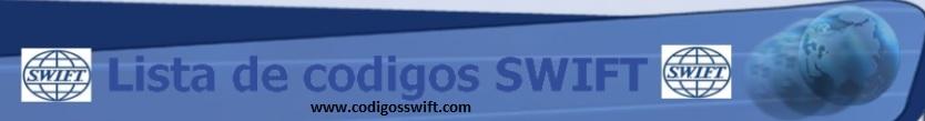 Lista de Codigos SWIFT por Paises