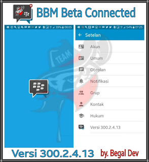 BBM Beta Mod Connected v300.2.4.13 Apk
