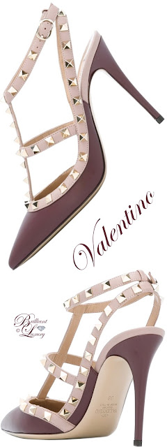 Brilliant Luxury ♦ Valentino Garavani  Rockstud Pumps