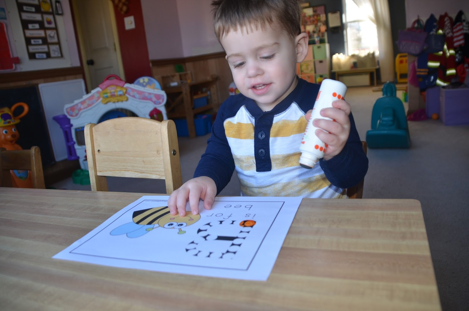 Aunt Tami S House Learning The Alphabet Letter B
