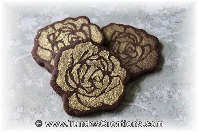 Easy rose cookie by Tunde Dugantsi