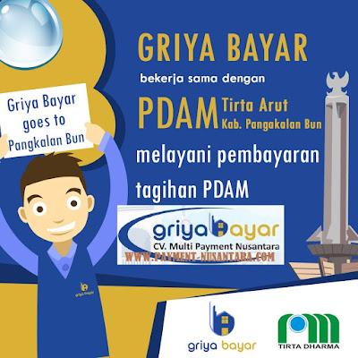 Cara Daftar Griya Bayar PDAM Tirta Arut Kabupaten Pangkalan Bun Kalimantan Tengah