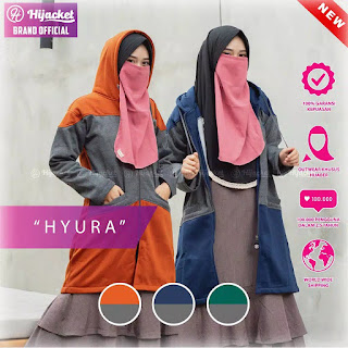 Hijacket Hyura | NEW Jaket Hijab Original | Armaila Hijacket