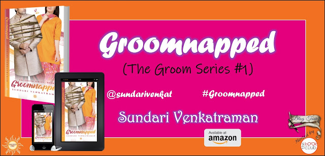 Grab the Book:  Groomnapped by Sundari Venkatraman
