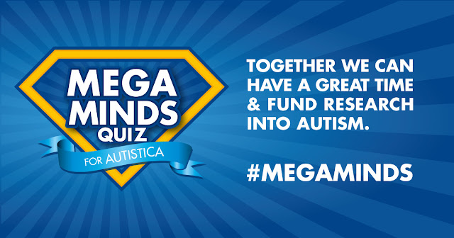Autistica #MegaMinds quiz for autism fund raising, awareness