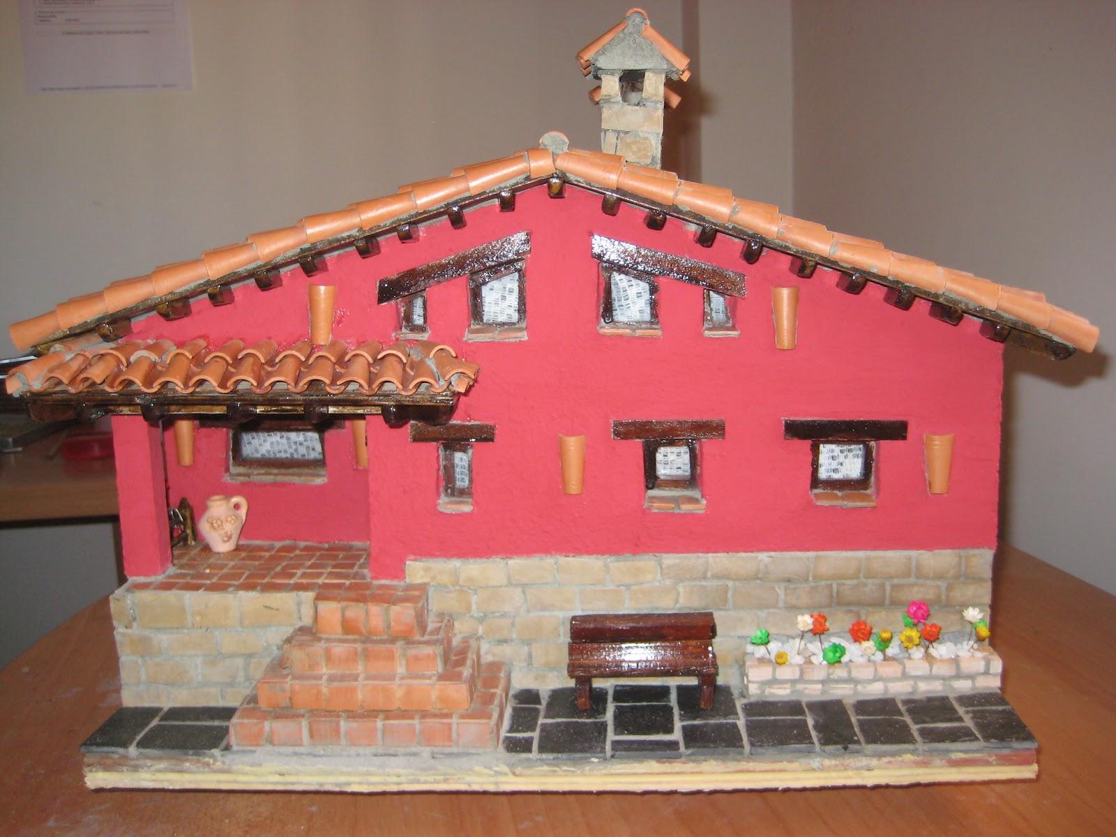Casas de piedra en miniatura casa abel - Casas miniaturas para construir ...
