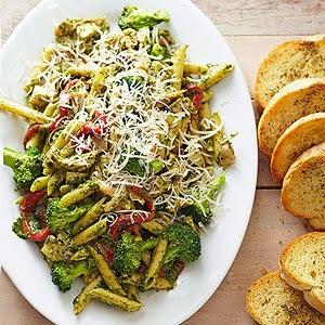 Basil Pesto Chicken Pasta Food Network