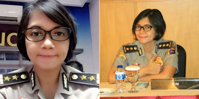 AKBP Dilia, Polwan Cantik ini Rela Tinggalkan Gaji Besar untuk Mengabdi di Kepolisian