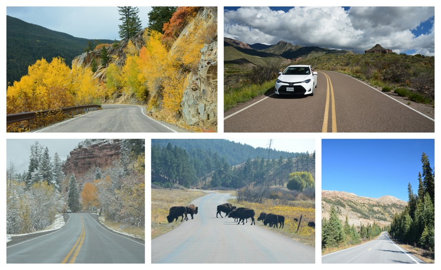 road trip  incontournables USA