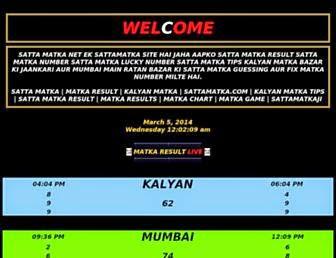 matka result: The Satta Matka Kalyan Plus the Fortunate Numbers