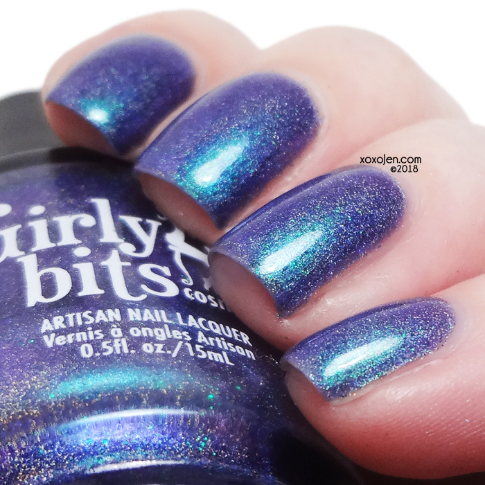 xoxoJen's swatch of Girly Bits Blue Year's Resolution