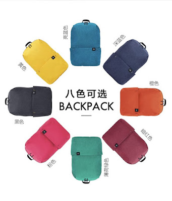 Xiaomi Launches Ultra-Cheap Small Colorful Backpacks in China