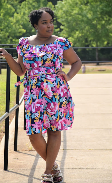 JCPenney Floral Spring Dress