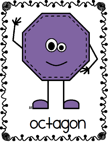 Mrs. Black's Bees: Shape People Posters
