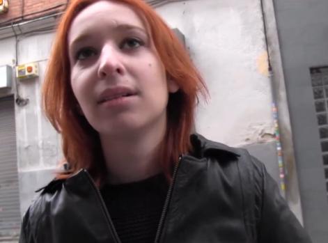 Pilladas en la Calle:Lesbiana Virgen