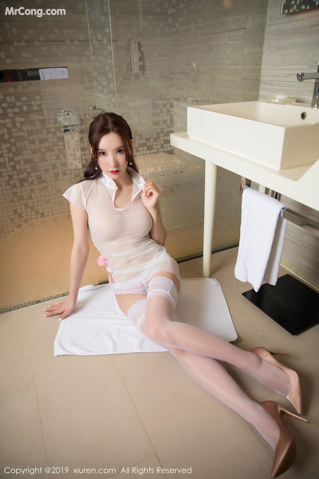 Image XIUREN-No.1446-Zhou-Yuxi-Sandy-MrCong.com-003 in post XIUREN No.1446: Zhou Yuxi (周于希Sandy) (67 ảnh)