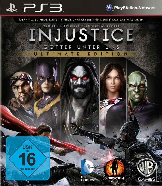 Ps3 Injustice Gods Among Us Ultimate Edition Download Game Full Iso