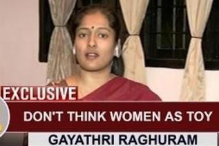 EXCLUSIVE | Don't think Women as Toy – Actress Gayathri Raghuram | Thanthi Tv