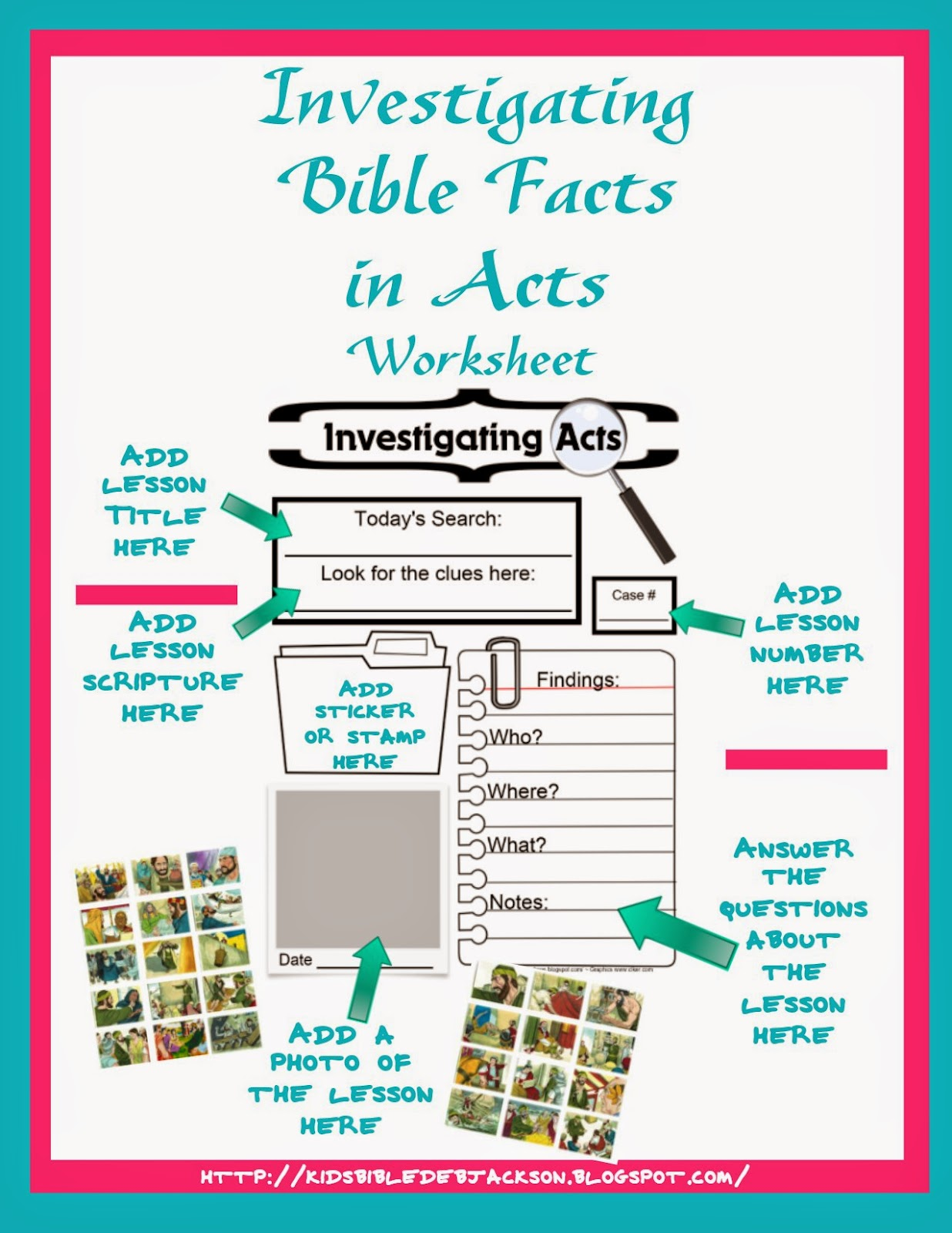 Bible Fun For Kids Ifa Investigating Bible Facts In Acts