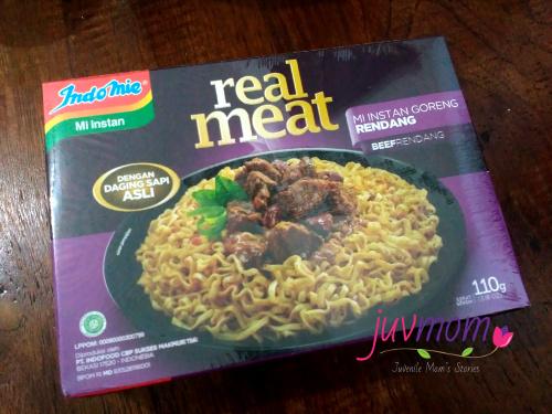 Indomie Real Meat Rasa Rendang