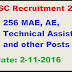 APPSC Recruitment 2016 Apply Online 256 MAE, AE, Technical Assistant and other Posts