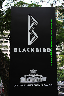 BlackBird Sign, Ayala Triangle Park, Makati, Manila, Philippines