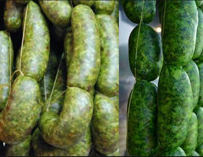 Como preparar Chorizo verde en casa